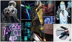 Orcim mens active trend story f/w 16/17 mood board Mood, clockwise from top left:  Combat paneling  Pop colored framing  Digital dashboard graphics  Urban terrain systems  Culture of reality shift  Theory of sport evolution  Textile fusions  Modern makeshift military  Anime inspired digital neighborhood  Wearable borough representation