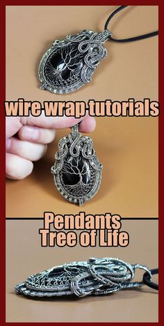 Wire wrapped tree of life tutorial PDF. Wire Wrapped jewelry tutorials. Wire Wrap tutorial Step by step. DIY Pendant Tree of Life. The book has 160 pages, more than 300 high-resolution photos. After studying the lessons you can independently make four pendants Tree of Life. I use copper wire in my tutorial. And this does not necessarily mean that you should use copper wire. Use any wire.