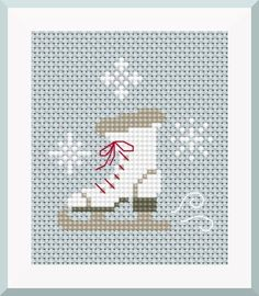 Brilliant Cross Stitch Embroidery Tips Ideas. Mesmerizing Cross Stitch Embroidery Tips Ideas. Cross Stitch Christmas Ornaments, Xmas Cross Stitch, Cross Stitch Cards, Christmas Cross, Counted Cross Stitch Patterns, Cross Stitch Designs, Cross Stitching, Cross Stitch Embroidery, Embroidery Patterns