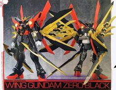 GUNDAM GUY: HG 1/144 Wing Gundam Zero Black - Custom Build