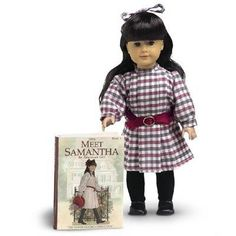 KK - Samantha was her first A G Doll, Addy the second, and Josephina was a bit late for adding to KK Josephine's Collection.  KK was even St. Lucia for Halloween one year