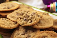 Chocolate Chip Cookies. - I've always been lazy and used the recipe on the back of the chocolate chip bag.  No more!  These are amazing!