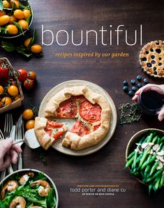 """Here's some Behind the Scenes Food Photography from our """"Bountiful"""" Cookbook shoot! Included are some out-takes from the garden and scenes from our studio set-ups and MESSY kitchen set-ups."""