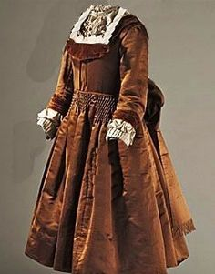 1880's Child Silk Dress