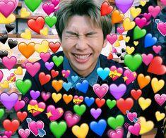 65 Ideas memes bts caras namjoon for 2019 Namjoon, Rapmon, Taehyung, Bts Meme Faces, Memes Funny Faces, Jin Cute, Jungkook Meme, Bts Emoji, Heart Meme