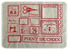 """LinneLLe et Adrien: { Broderie """"Point de Croix"""" }"""