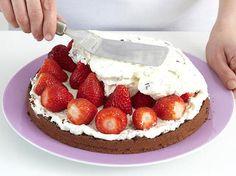 Stracciatella-Torte - Schritt 4: