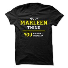 Its A MARLEEN thing, you № wouldnt understand !!MARLEEN, are you tired of having to explain yourself? With this T-Shirt, you no longer have to. There are things that only MARLEEN can understand. Grab yours TODAY! If its not for you, you can search your name or your friends name.Its A MARLEEN thing, you wouldnt understand !!