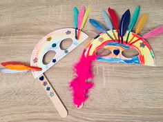 Carnival masks made of paper plates – crafts with children Paper Plate Crafts, Paper Plates, Art For Kids, Crafts For Kids, Children Crafts, Gold Purchase, Home Crafts, Diy Crafts, Drawing Programs