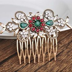 Cheap comb flower, Buy Quality comb pick directly from China comb clip Suppliers: 2015 Love Luxurious Pretty Flower Resizable Ring Anel Aneis Masculinos Anillos Joias Ouro Indian Jewellry Bague Gorjuss