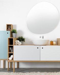 Wall-mounted #bathroom #mirror STONE - @extdesign