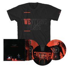 51c29e7f145 Blurryface Live Vinyl Bundle - Apparel Twenty One Pilots Store