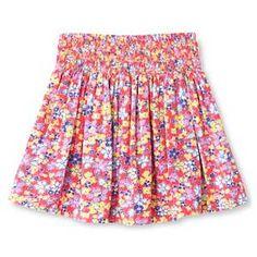 Toddler Girls' Floral Mini Skirt Coral - Genuine Kids from Oshkosh™ : Target