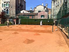 Venezia: il campo da tennis a Venezia si gioca circondati dalla storia silva