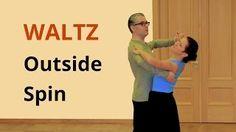How to Dance Waltz Outside Spin / Ballroom Dance Online Dance Lessons, Social Dance, Jazz Dance Costumes, Tribal Belly Dance, Shall We Dance, Ballroom Dancing, Ballroom Dress, Salsa Dancing, Learn To Dance