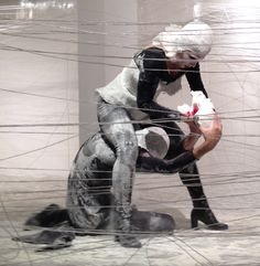 In Flagrante Delicto - Performance art  Idea & Creators - Alon Moran & Maya Meidar Moran  Dancers & Actors –Gili Beit Hallahmi & Omri Albo  Makeup Artist –Na'ama Chason   Contemporary Design Gallery - Periscope