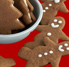 Gingerbread Man Cookies (almond flour and gluten free)