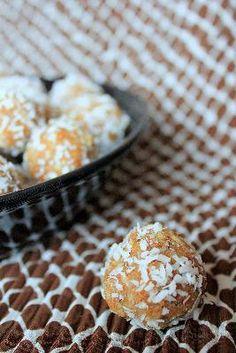 Pralinki kokosowo-orzechowe