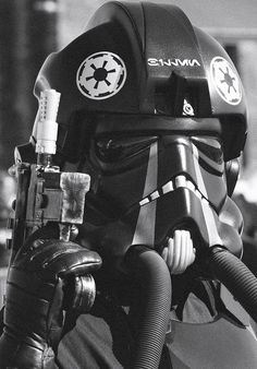 TIE fighter pilot...