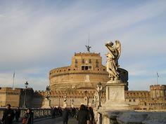 Castel Sant'Angelo - Mausoleo de Adriano. Roma