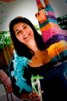Really cute party plan for Mexican fiesta, in this case for a baby shower.