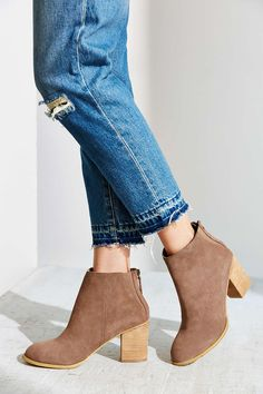 40c32b8f2f30 Ecote Short Suede Boot Suede Chelsea Boots, Suede Ankle Boots, Bootie  Boots, Ankle