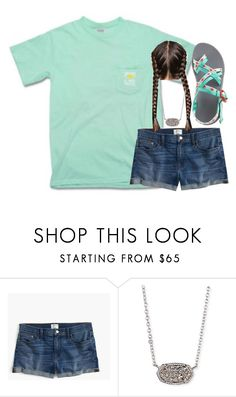 """""""💓🎃"""" by nc-preppy ❤ liked on Polyvore featuring J.Crew, Chaco and Kendra Scott"""