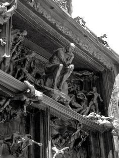 Gates of Hell....... by AUGUSTE RODIN  ...11/12/1840--11/17/1917.. ... .#KoboDescent