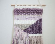 WEAVING / Woven Wall Hanging / Weaving Wall Hanging by DRIEdesigns