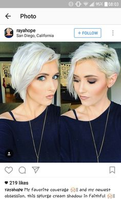 Funky short pixie haircut with long bangs ideas 18 Pixie Cut With Long Bangs, Longer Pixie Haircut, Long Hair Cuts, Short Pixie, Pixie Cuts, Shaggy Pixie, Asymmetrical Pixie, One Side Shaved Hairstyles, Undercut Hairstyles