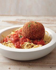 Chicken Parm Meatballs | Martha Stewart