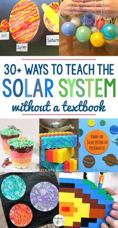 30+ Hands-On Ways To Teach The Solar System