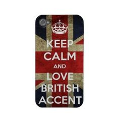 ★ LOVE British UK Accent ★ONE DIRECTION JLS 1D GB Case iPhone 4 & 4S back COVER