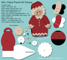 Alex's Creative Corner: Christmas in July - Mrs. Claus