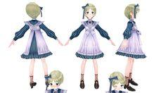 3D Model Game Character    メルルのアトリエ  Modeler:Metasequoia  Texture:PaintToolSAI…