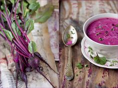 food, soup, beetroot