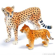 Cheetah and Baby from Schleich