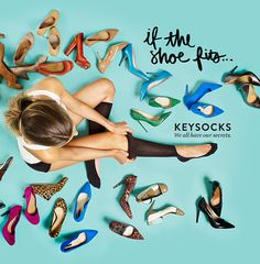 Keysocks are the first no show socks that work.   Whether it's a cold office, or you need protection from blisters, Keysocks stay up all day or night long.  We all have our secrets!