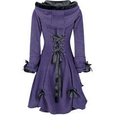 Alice Coat Purple Poizen Industries - Jackets | RebelsMarket