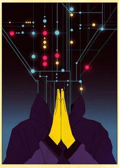 Killian Eng Sci-fi Illustration - AnotherDesignBlog.