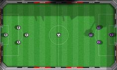 Bilardo Futbol Maçı oyunu, bilardo toplarıyla maç yapabileceğiniz eğlenceli bir oyun. 4 kişilik takımlarla oynanan Avrupa Futbol Şampiyonası takımlarının bulunduğu oyunda, takımınızı seçin ve maçlar yapmaya başlayın.   http://www.oyuntr.net/bilardo-oyunlari