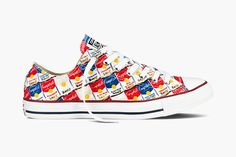 93ecc8a84bf5 Andy Warhol x Converse Spring 2015 Chuck Taylor All Star Collection