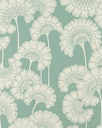 Wallpaper Japanese Floral Sage
