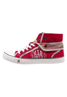 H.I.S. Sneaker high red für Damen
