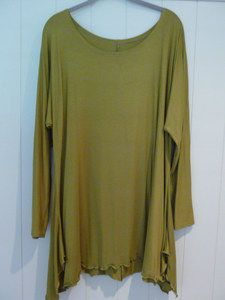 Organic cotton tunic top hand made in Bulgaria $35 on sale now 16/ July 2013 see other photo get a better idea