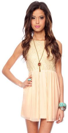 #Tobi                     #love                     #Live #Love #Dress #Peach #tobi                     Live in Love Dress in Peach :: tobi                                           http://www.seapai.com/product.aspx?PID=1187577