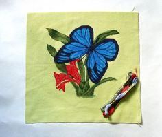 Finished Handmade art decor cross stitch by OlgaMagicalThings