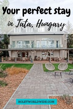 If you're visiting the beautiful city of Tata, in Hungary, and you're looking for a place to stay in, this is the perfect hotel for you. Sirály Panzió is a beautiful small hotel that will cover all your necessities and it's located in a perfect spot in front of the lake. From here you can also enjoy a good walk to the city centre and visit the top places of the city. Also, it's just one hour away from Budapest if you want to visit the capital. Europe Travel Outfits, Europe Travel Guide, Travelling Tips, Travel Guides, Budapest Travel Guide, Cheap Places To Travel, Hungary Travel, Travel Expert, Beautiful Hotels