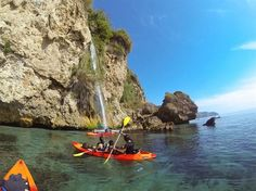 Sea kayaking from Burriana beach in Nerja to Maro is an exceptional journey through the Acantilados de Maro-Cerro Gordo natural area. Waterfalls, hidden beaches, crystal clear waters and some of the most pristine coastline on offer. Do it, you won't be disappointe