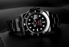 Rolex x Blaken Submariner Date Single Red #Rolex #Blaken #submariner